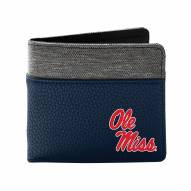 Mississippi Rebels Pebble Bi-Fold Wallet