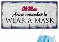 Mississippi Rebels Please Wear Your Mask Sign