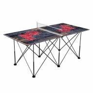 Mississippi Rebels Pop Up 6' Ping Pong Table
