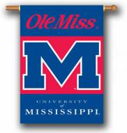 """Mississippi Rebels Premium 28"""" x 40"""" Two-Sided Banner"""