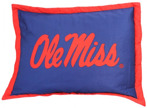 Mississippi Rebels Printed Pillow Sham
