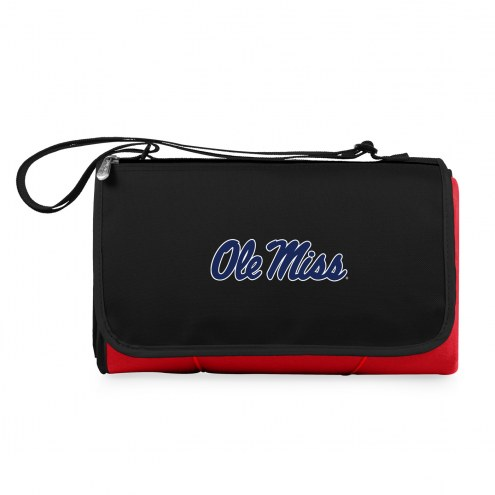 Mississippi Rebels Red Blanket Tote