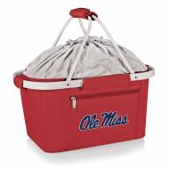 Mississippi Rebels Red Metro Picnic Basket