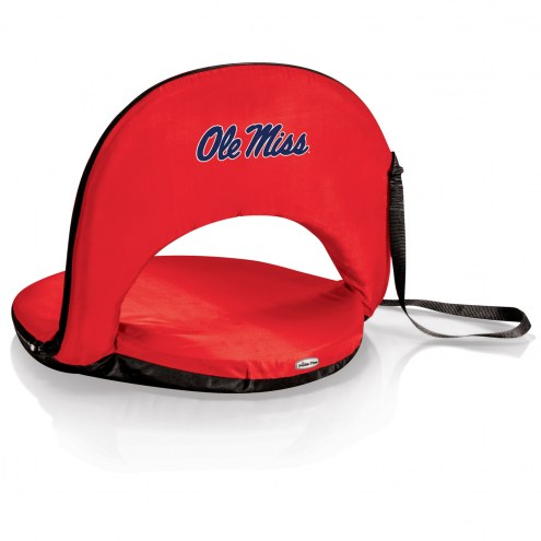 Mississippi Rebels Red Oniva Beach Chair