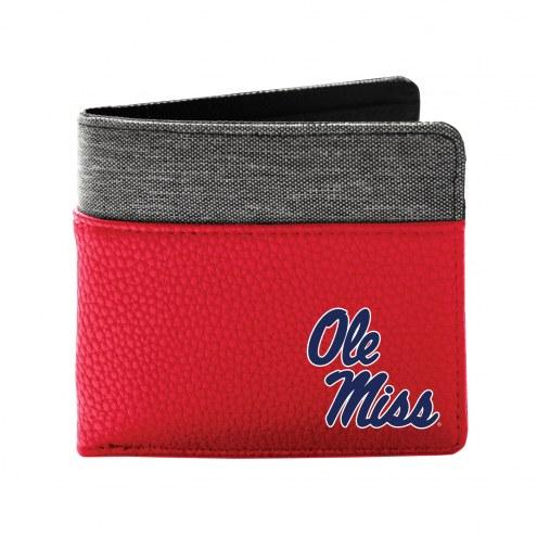 Mississippi Rebels Pebble Bi-Fold Wallet
