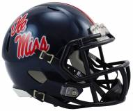 Mississippi Rebels Riddell Speed Mini Collectible Football Helmet