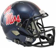 Mississippi Rebels Riddell Speed Collectible Football Helmet