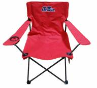 Mississippi Rebels Rivalry Folding Chair