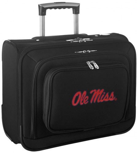 Mississippi Rebels Rolling Laptop Overnighter Bag