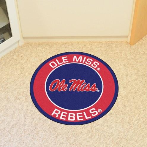 Mississippi Rebels Rounded Mat