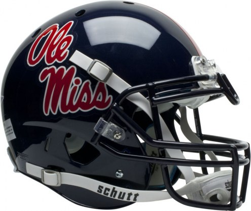 Mississippi Rebels Schutt XP Authentic Full Size Football Helmet