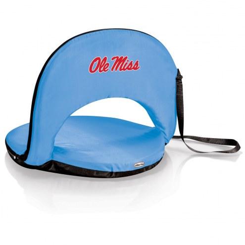Mississippi Rebels Sky Blue Oniva Beach Chair