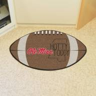Mississippi Rebels Southern Style Football Floor Mat