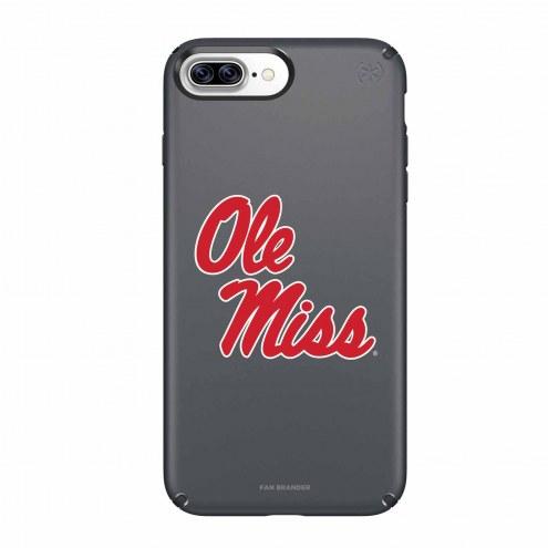 Mississippi Rebels Speck iPhone 8 Plus/7 Plus Presidio Black Case