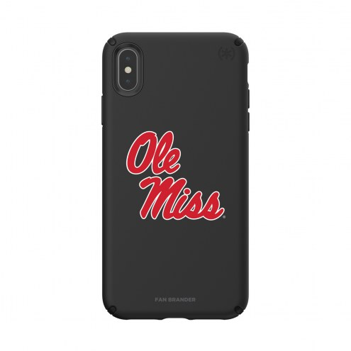 Mississippi Rebels Speck iPhone XS Max Presidio Pro Black Case