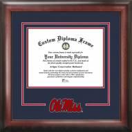 Mississippi Rebels Spirit Diploma Frame