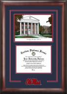 Mississippi Rebels Spirit Graduate Diploma Frame