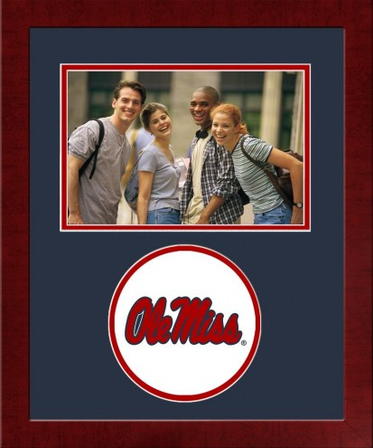 Mississippi Rebels Spirit Horizontal Photo Frame