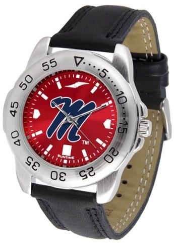 Mississippi Rebels Sport AnoChrome Men's Watch