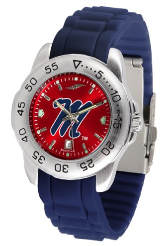 Mississippi Rebels Sport Silicone Men's Watch