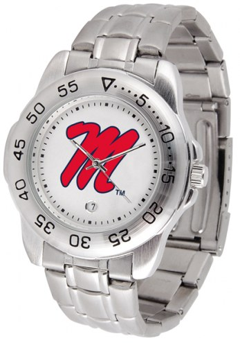 Mississippi Rebels Sport Steel Men's Watch