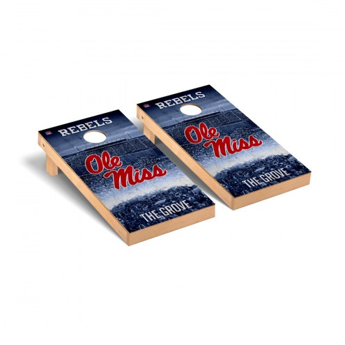 Mississippi Rebels Stadium Cornhole Game Set