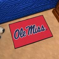 Mississippi Rebels Starter Rug