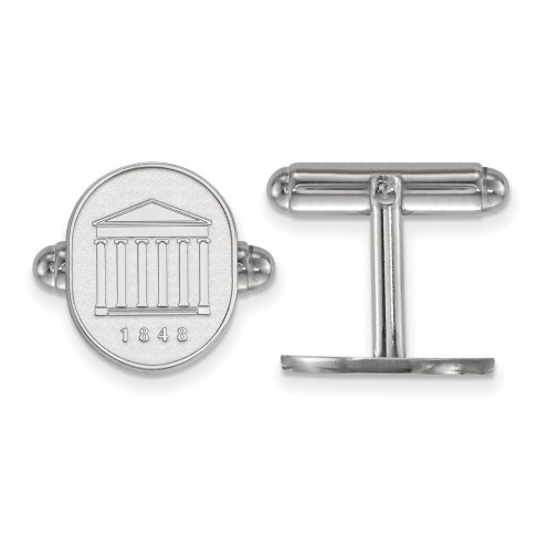 Mississippi Rebels Sterling Silver Cuff Links
