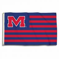 Mississippi Rebels Stripes 3' x 5' Flag