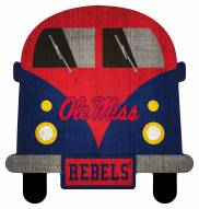 Mississippi Rebels Team Bus Sign