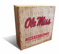 Mississippi Rebels Team Logo Block