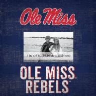 "Mississippi Rebels Team Name 10"" x 10"" Picture Frame"
