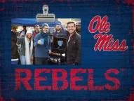 Mississippi Rebels Team Name Clip Frame