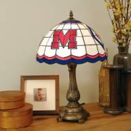 Mississippi Rebels Tiffany Table Lamp