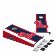 Mississippi Rebels Mini Cornhole Set