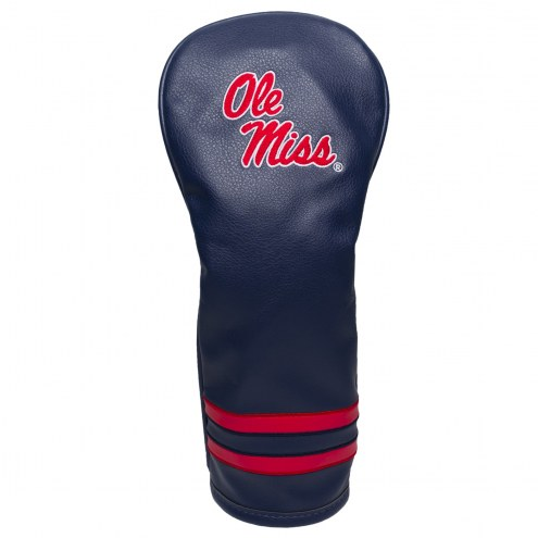 Mississippi Rebels Vintage Golf Fairway Headcover