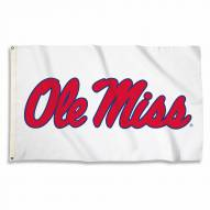 Mississippi Rebels White 3' x 5' Flag