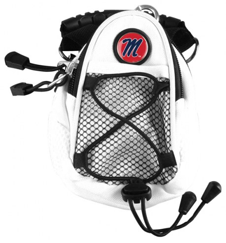 Mississippi Rebels White Mini Day Pack