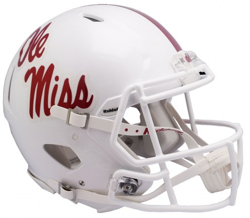 Mississippi Rebels Riddell Speed Full Size Authentic Football Helmet
