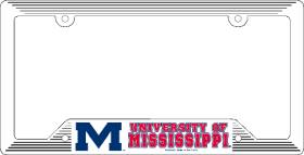 Mississippi Rebels License Plate Frame