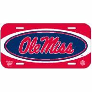 Mississippi Rebels License Plate