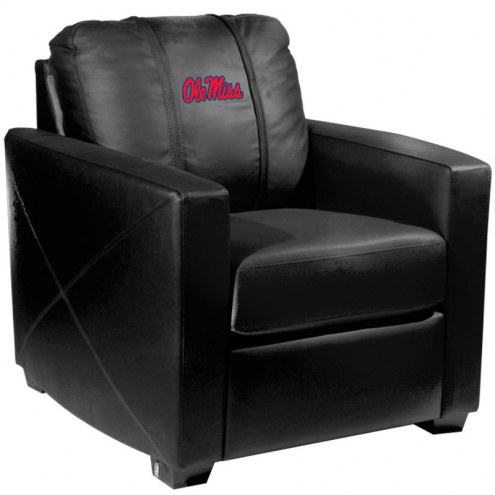 Mississippi Rebels XZipit Silver Club Chair