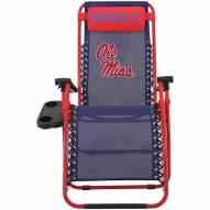 Mississippi Rebels Zero Gravity Chair
