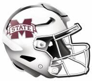 """Mississippi State Bulldogs 12"""" Helmet Sign"""