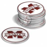 Mississippi State Bulldogs 12-Pack Golf Ball Markers