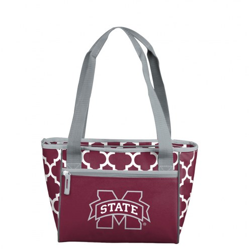 Mississippi State Bulldogs 16 Can Cooler Tote