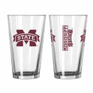 Mississippi State Bulldogs 16 oz. Gameday Pint Glass