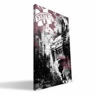 "Mississippi State Bulldogs 16"" x 24"" Spirit Canvas Print"