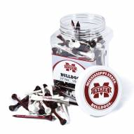 Mississippi State Bulldogs 175 Golf Tee Jar