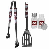 Mississippi State Bulldogs 2 Piece BBQ Set with Salt & Pepper Shakers